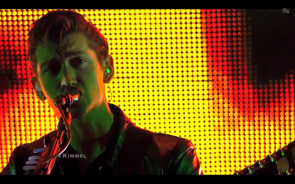 Arctic Monkeys perform Do I Wanna Know  R U Mine on Jimmy Kimmel Live