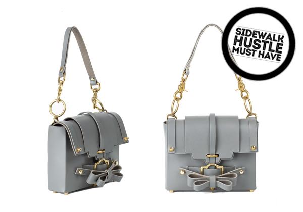 Niels Peeraer Bow Buckle Handbag