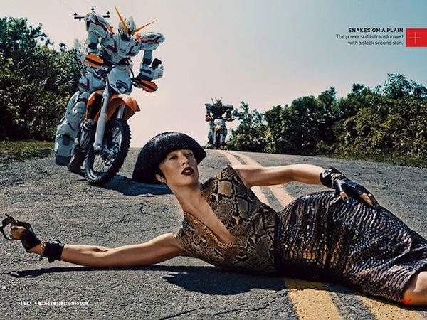 Raquel Zimmermann Vogue November 2013-2