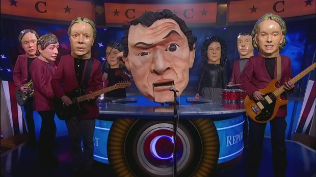 Arcade Fire on The Colbert Report