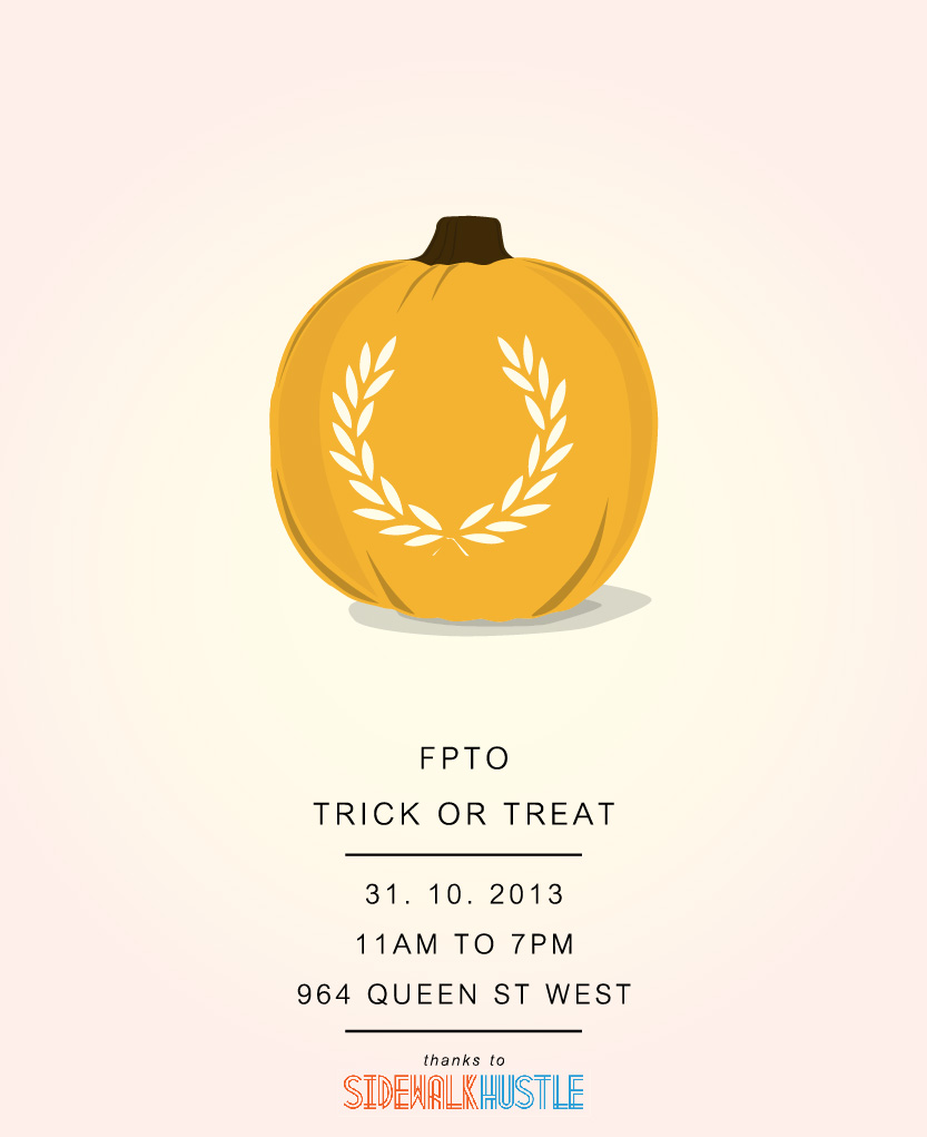 Fred Perry Toronto Trick or Treat