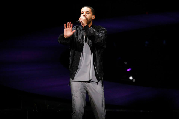 Drake live at the Air Canada Centre in Toronto