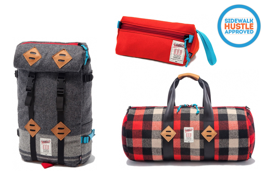 Woolrich X Topo Design Bag Collection Copy