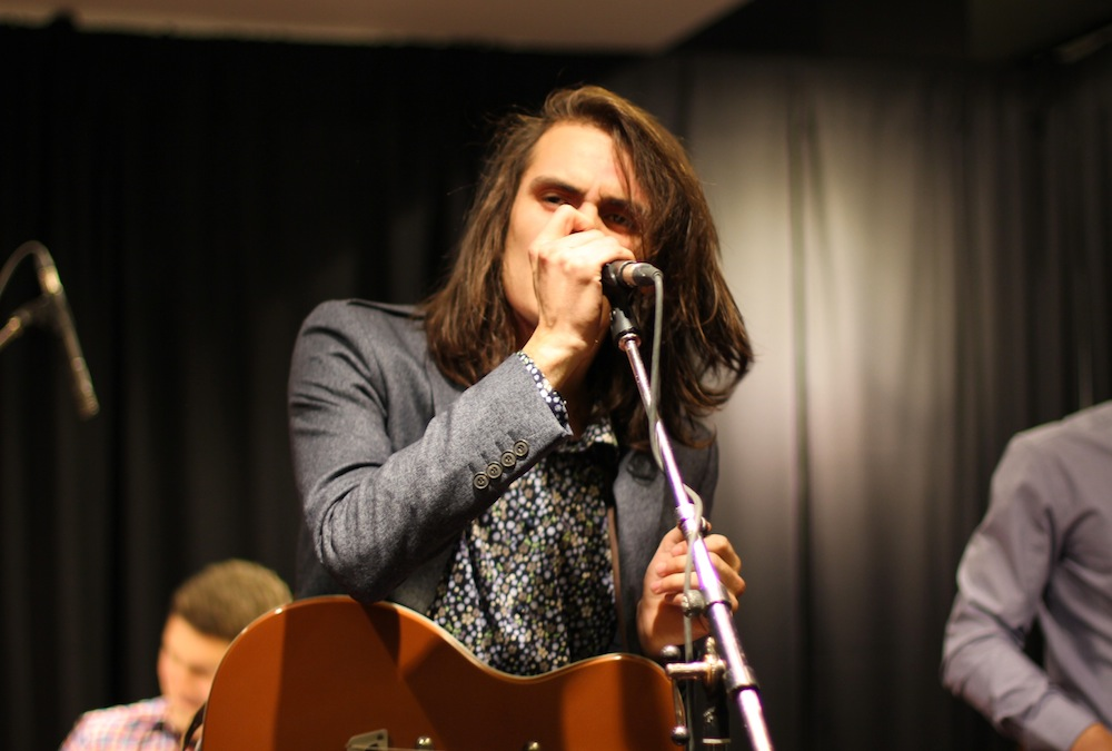 Michael Rault at Harry Rosen's Underground Lounge