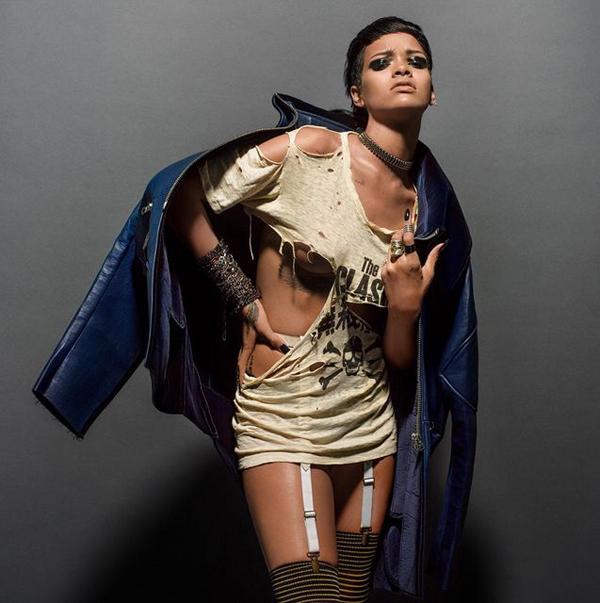 Rihanna for 032c Winter 2013 by Inez & Vinoodh-6