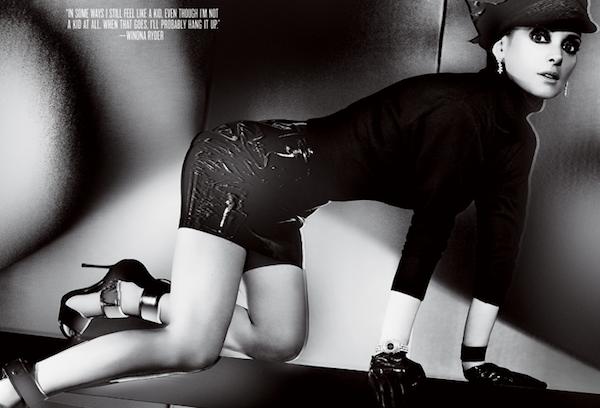 Winona Ryder For V Magazine #86-4