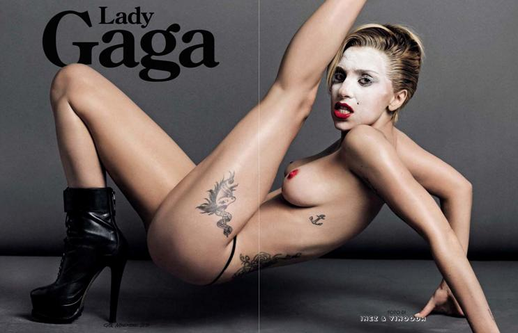 Lady Gaga for GQ Italia November 2013-2