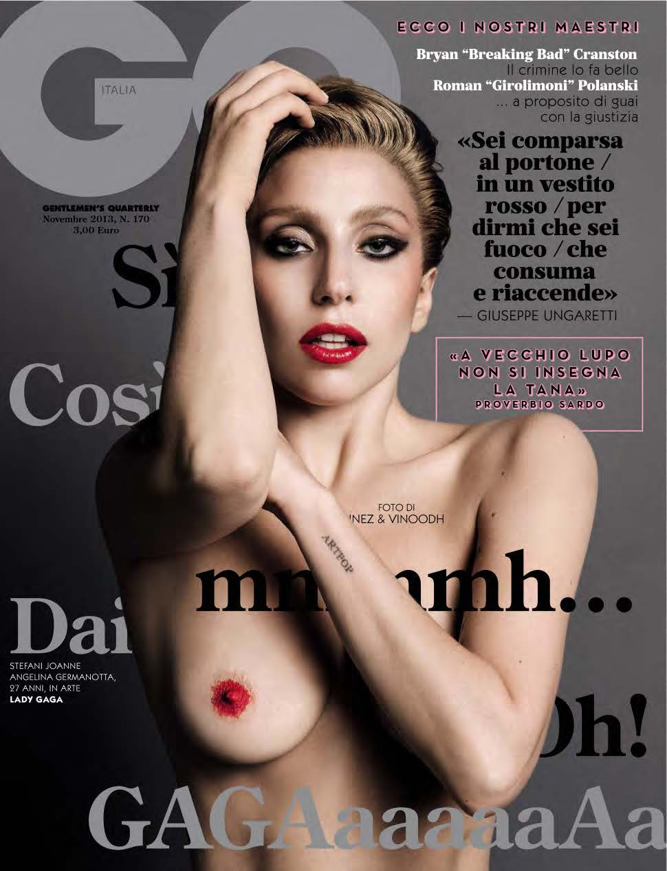 Lady Gaga for GQ Italia