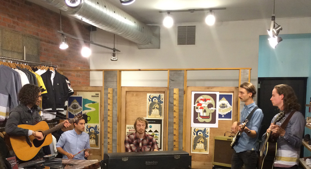 Fred Perry Toronto presents Dinosaur Bones In Store Acoustic Session