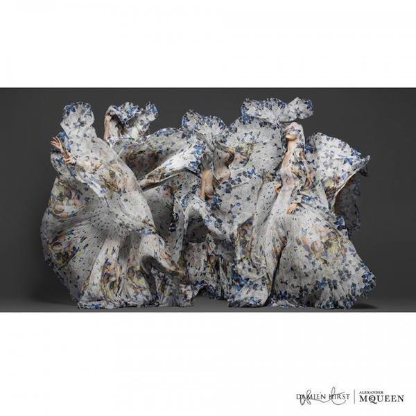 Damien Hirst x Alexander McQueen Scarf Collaboration-2