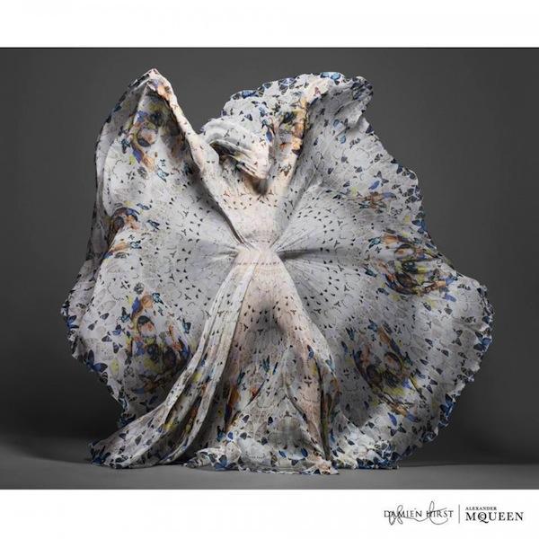 Damien Hirst x Alexander McQueen Scarf Collaboration-3