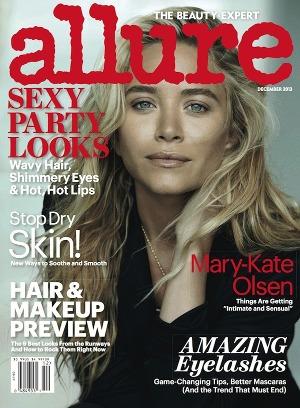 Ashley and Mary Kate Olsen Allure December 2013 Peter Lindbergh-3