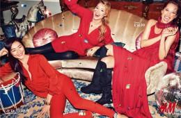 H&M Holiday feat. Christy Turlington, Doutzen Kroes and Liu Wen