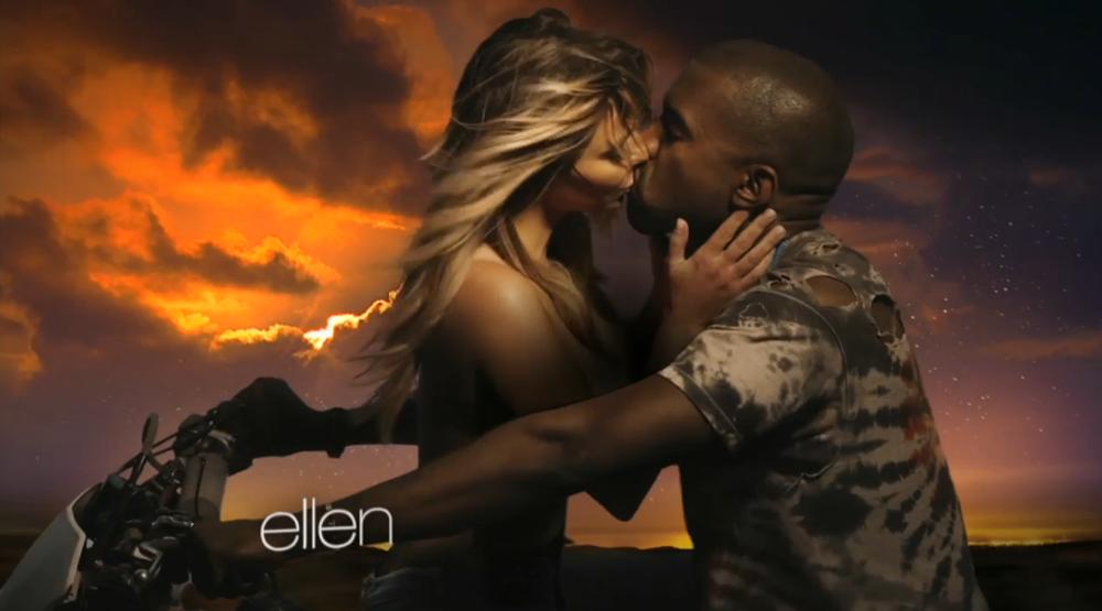Kanye West Bound 2 Kim Kardashian Music Video