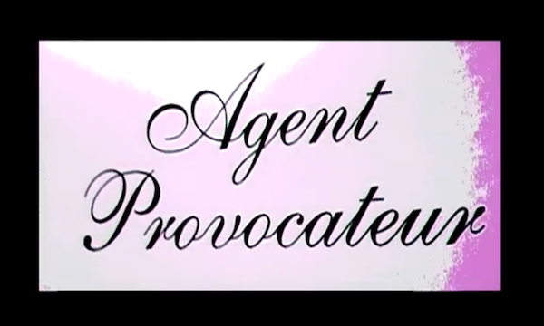 Agent Provocateur Tied Up At The Office