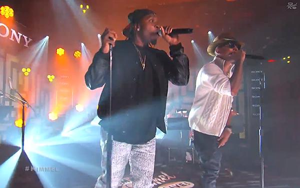 Pusha T S.N.I.T.C.H. Pharrell King Push Jimmy Kimmel Live