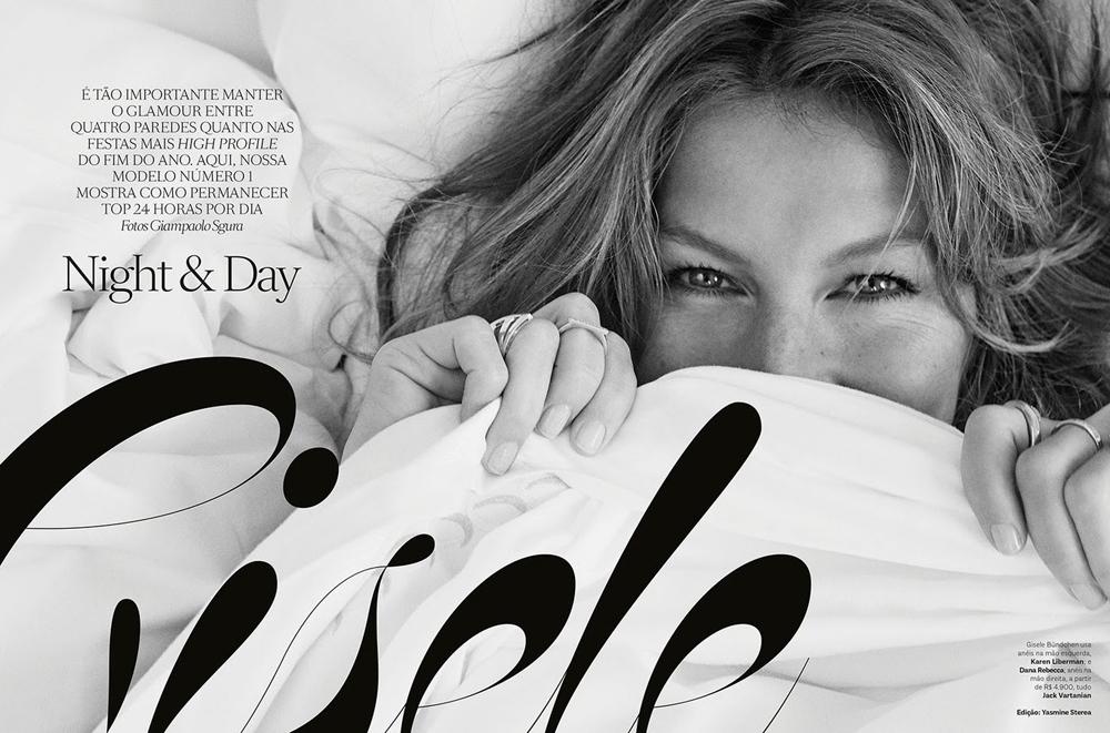 Gisele Bundchen by Giampaolo Sgura for Vogue Brazil