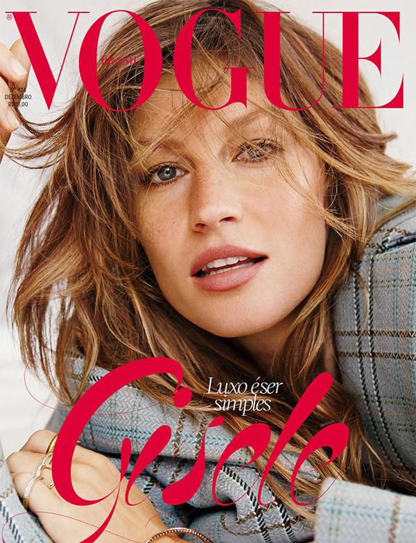 Gisele Bundchen for Vogue Brazil December 2013