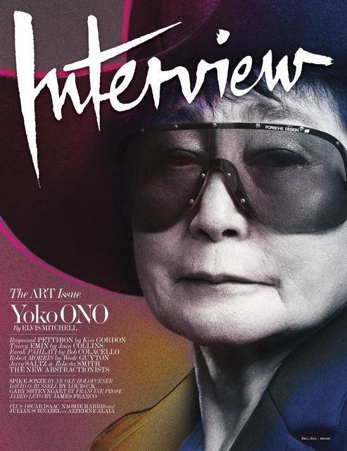 Yoko Ono For Interview...