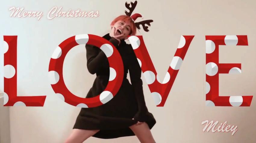 Miley Cyrus Countdown to LOVE Advent Calendar