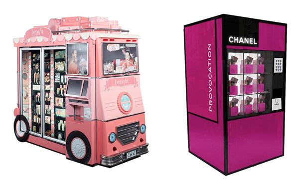 Beauty Vending Machines