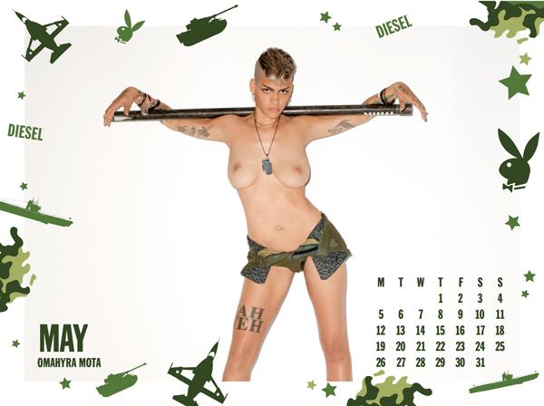Diesel x Playboy 2014 Calendar by Terry Richardson