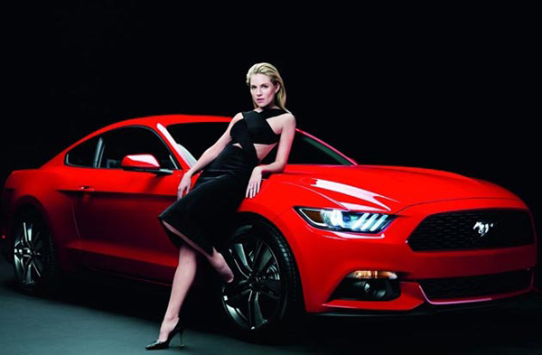 Sienna Miller Stars in Latest Ford Mustang Campaign by Rankin