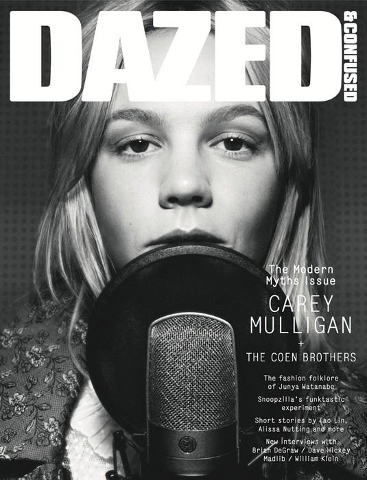 Carey Mulligan for Dazed & Confused January 2014-2