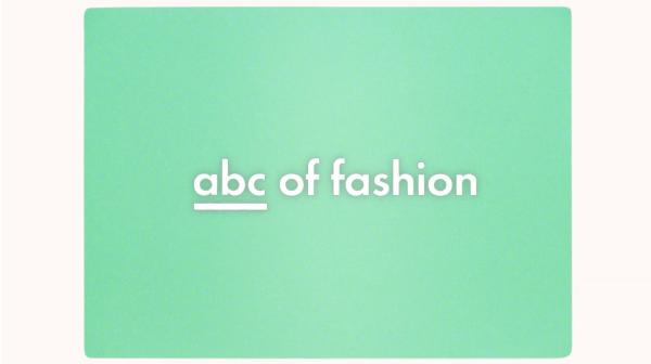 ABC of Fashion i-D Magazine