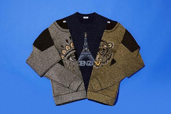 KENZO Christmas Sweaters