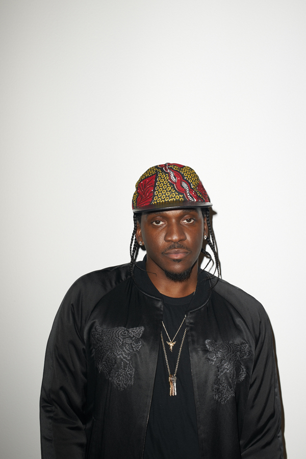 Pusha T photographed by Terry Richardson
