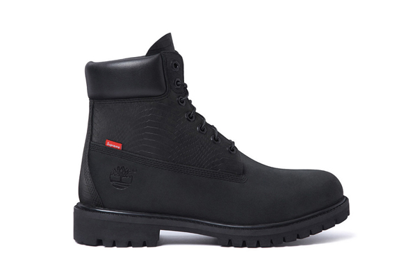 Supreme x Timberland 6 Premium Waterproof Boot Black