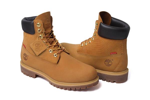 Supreme x Timberland 6 Premium Waterproof Boot