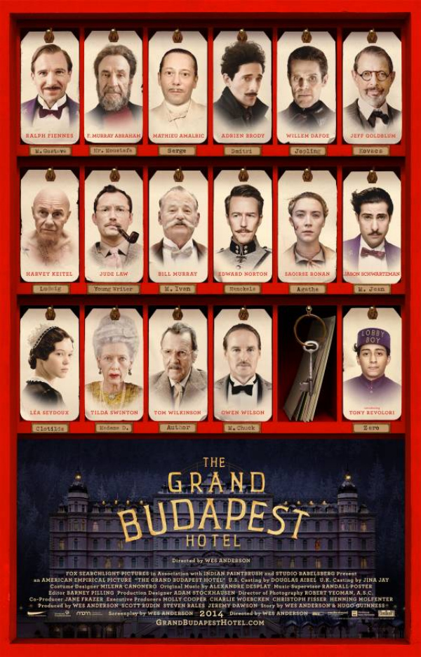 Grand Budapest Hotel Characters