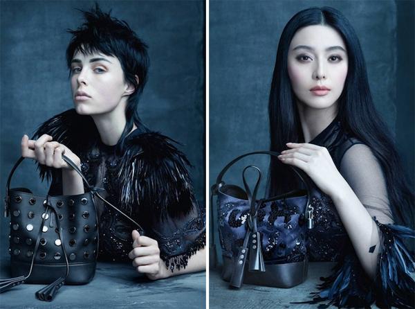 Fan Bingbing & Caroline de Maigret for Louis Vuitton Spring Summer 2014
