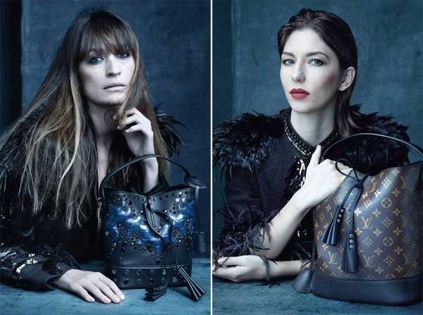 Sofia Coppola Edie Campbell for Louis Vuitton Spring Summer 2014