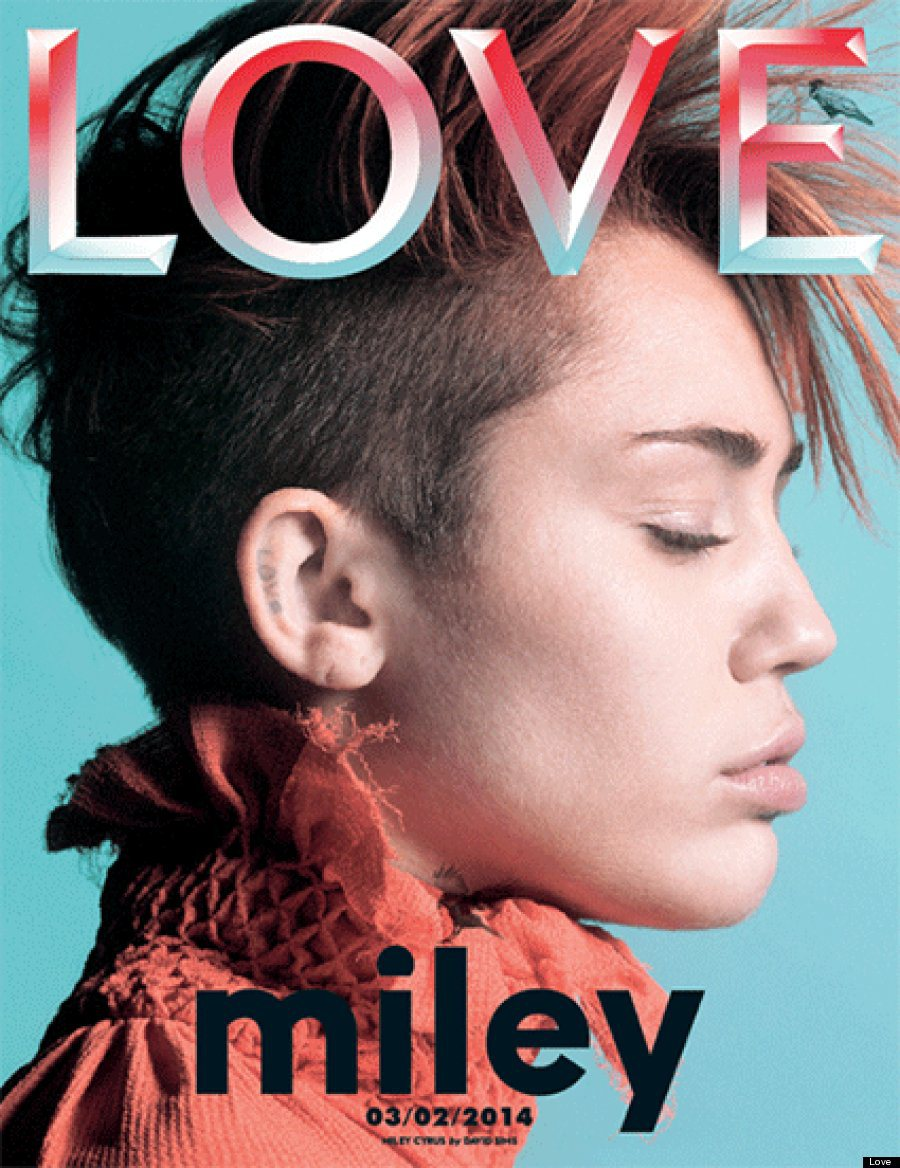 Miley Cyrus for LOVE Magazine