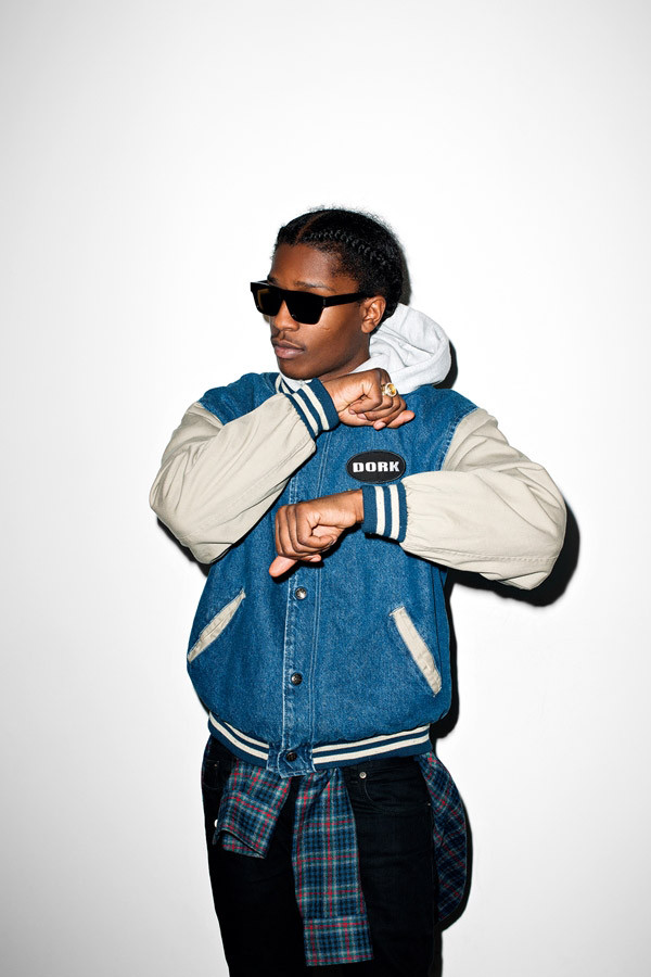 ASAP Rocky for Purple Magazine by Terry Richardson