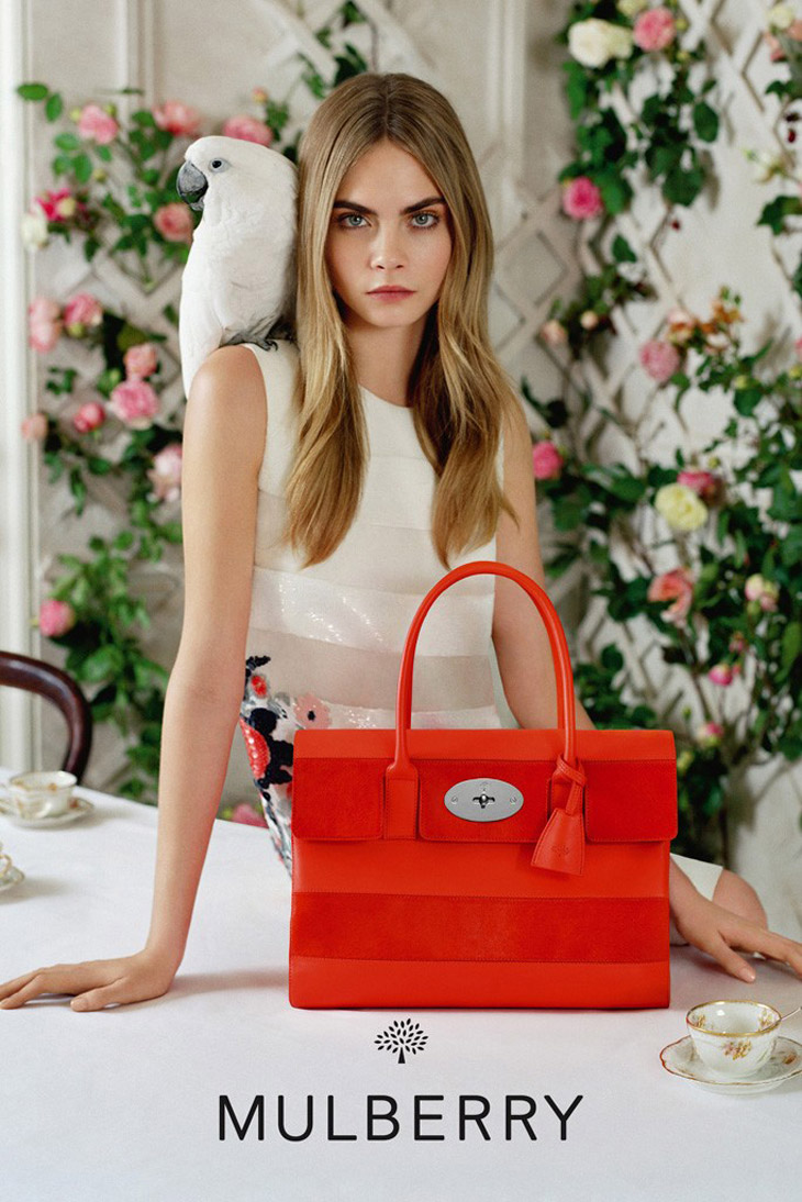 Cara Delevingne for Mulberry SS 2014-4