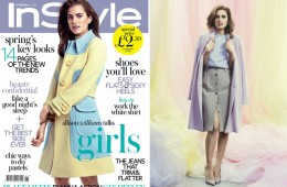 allison williams for UK In style cover