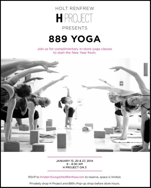 H Project 889 Yoga Holt Renfrew