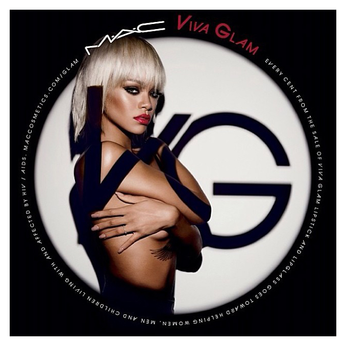 Rihanna for MAC Viva Glam