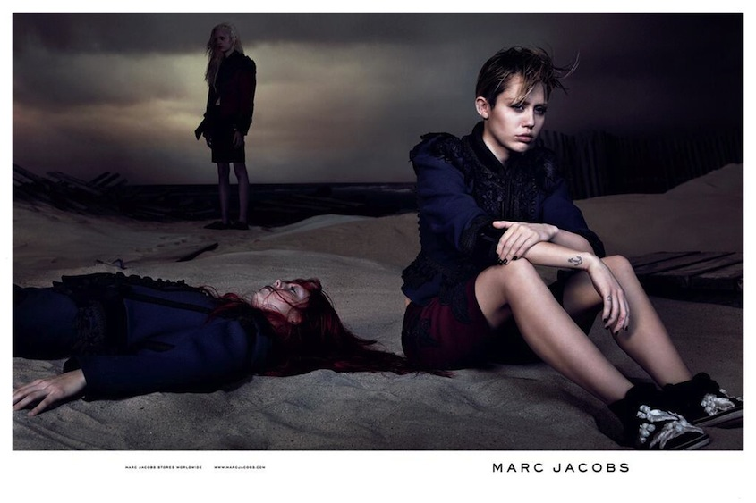 Miley Cyrus for Marc Jacobs Spring 2014