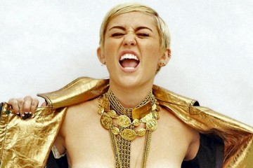 Miley Cyrus for MAXIM Outtake Topless