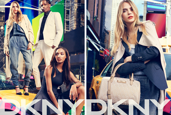 ASAP Rocky Stars in DKNY Ad Campaign-double