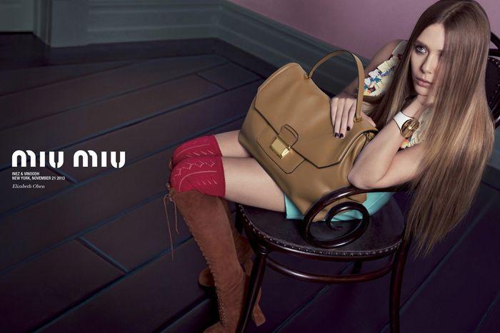 Elle Fanning for Miu Miu Spring Summer 2014-5