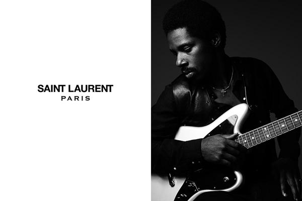 Saint Laurent Paris Music Project starring Curtis Harding