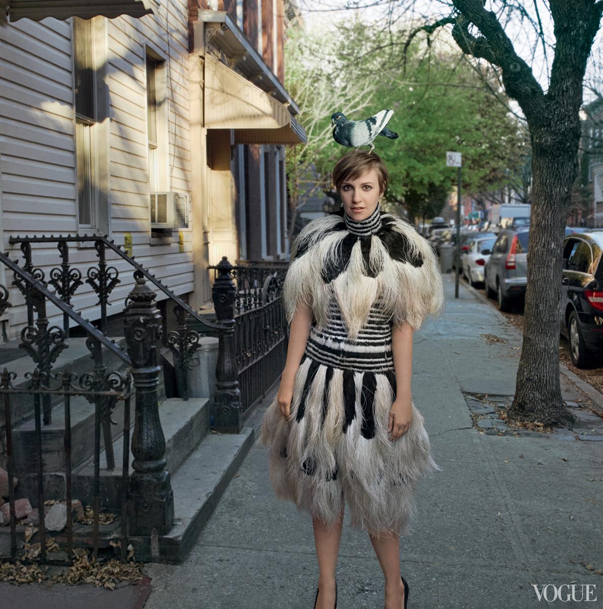 Lena Dunham for Vogue Feb 2014-3