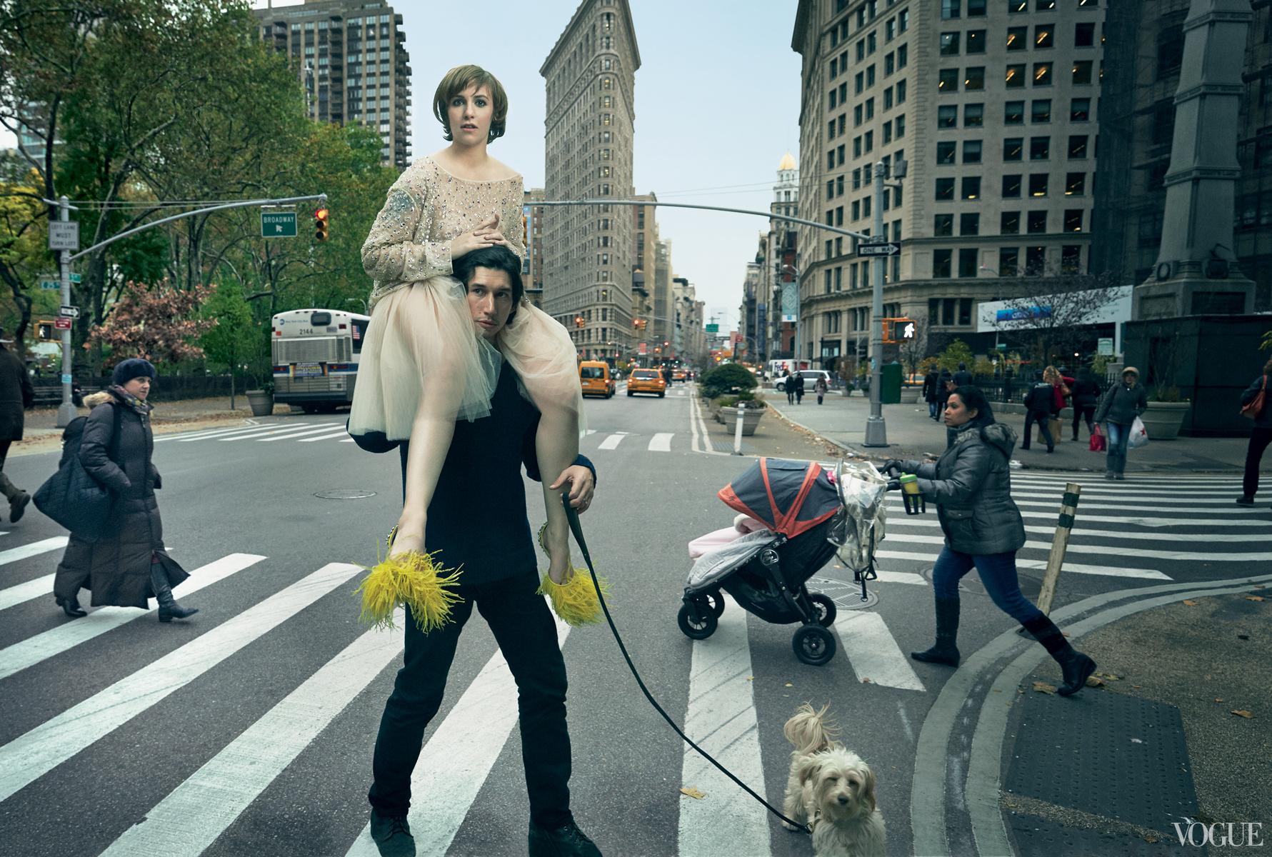 Lena Dunham for Vogue February 2014-2