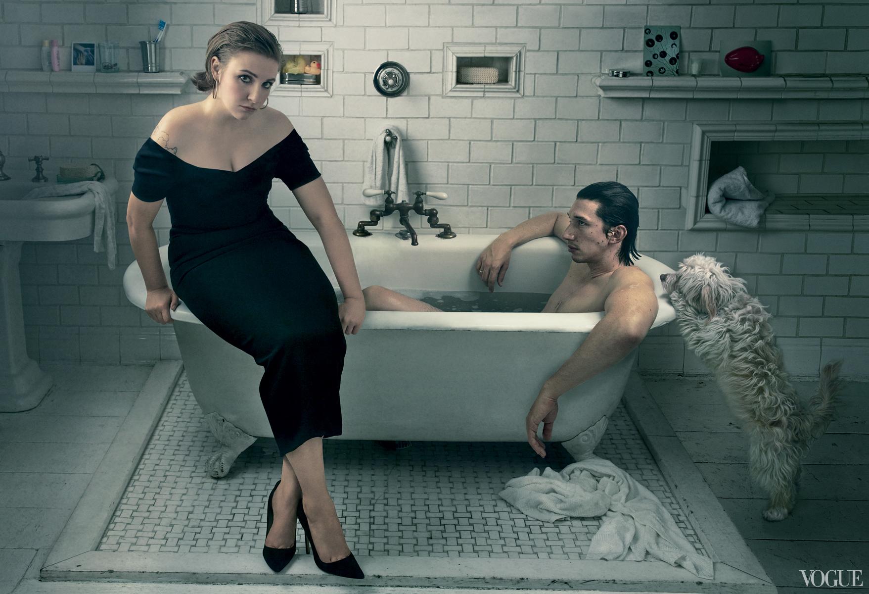 Lena Dunham for Vogue February 2014-5